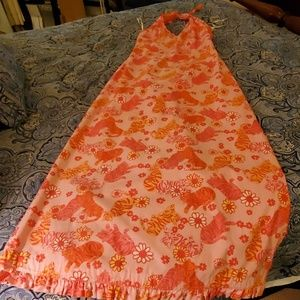 Lilly Pulitzer *Rare* Grrranium Maxi Dress